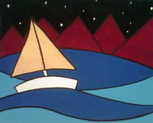 chris valour, sail boat